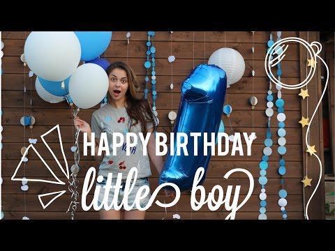 Cмотреть видео онлайн Детский день рождения ИДЕИ, подготовка, VLOG