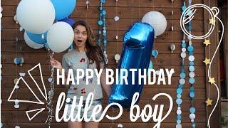 видео Празднуем день рождения ребенка: три года