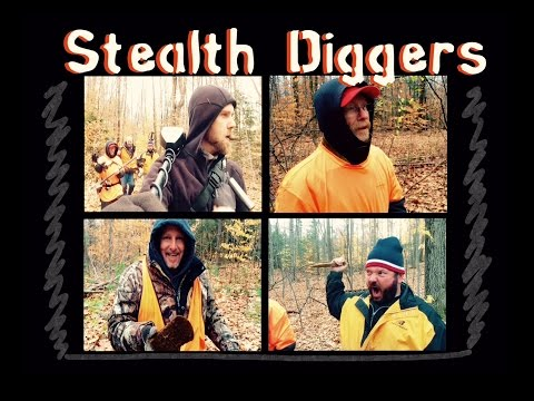#58 Dig with the wind - The group metal detecting cellar holes in NH Garrett atpro coins relics
