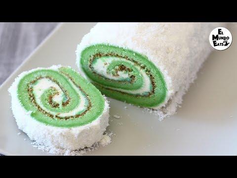 Cara Membuat Pandan Layer Cake
