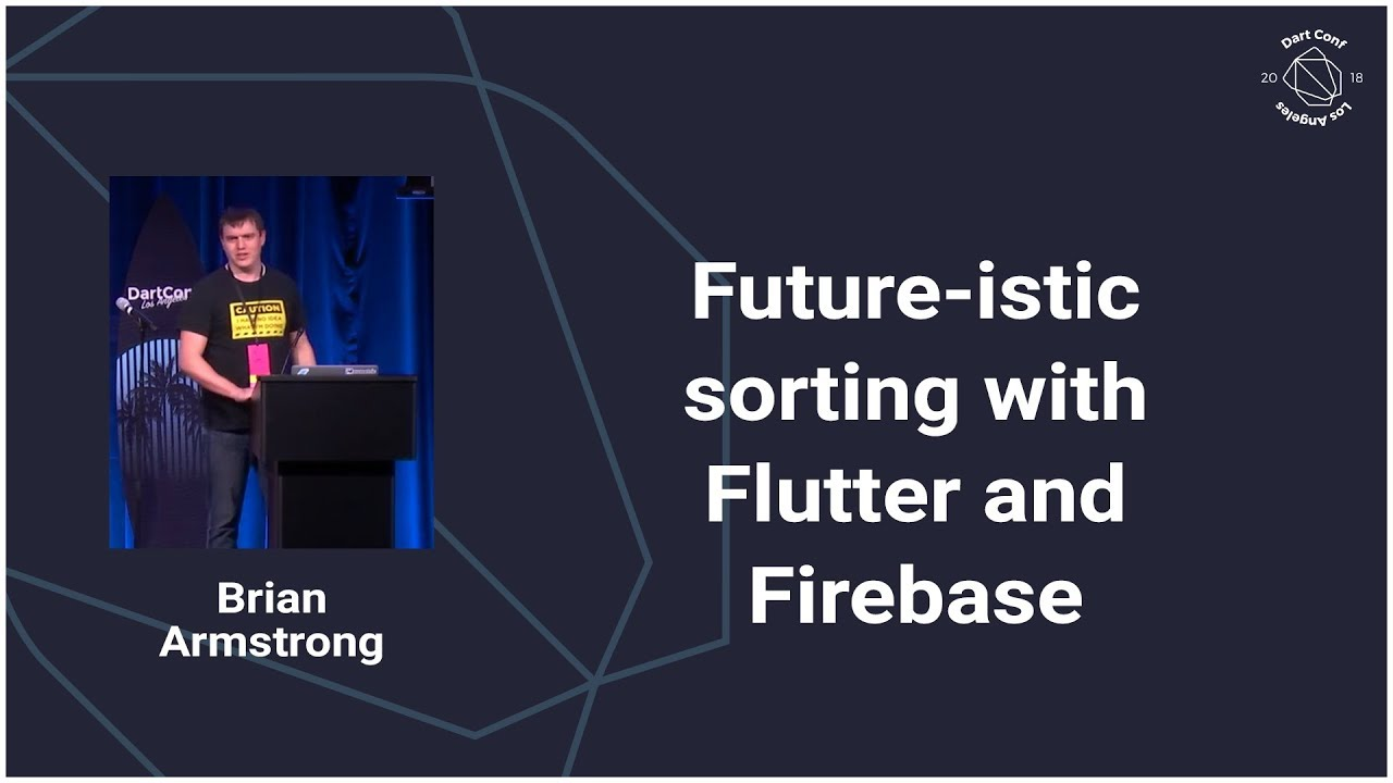 Future-istic Sorting with Dart (Dart Conference 2018)