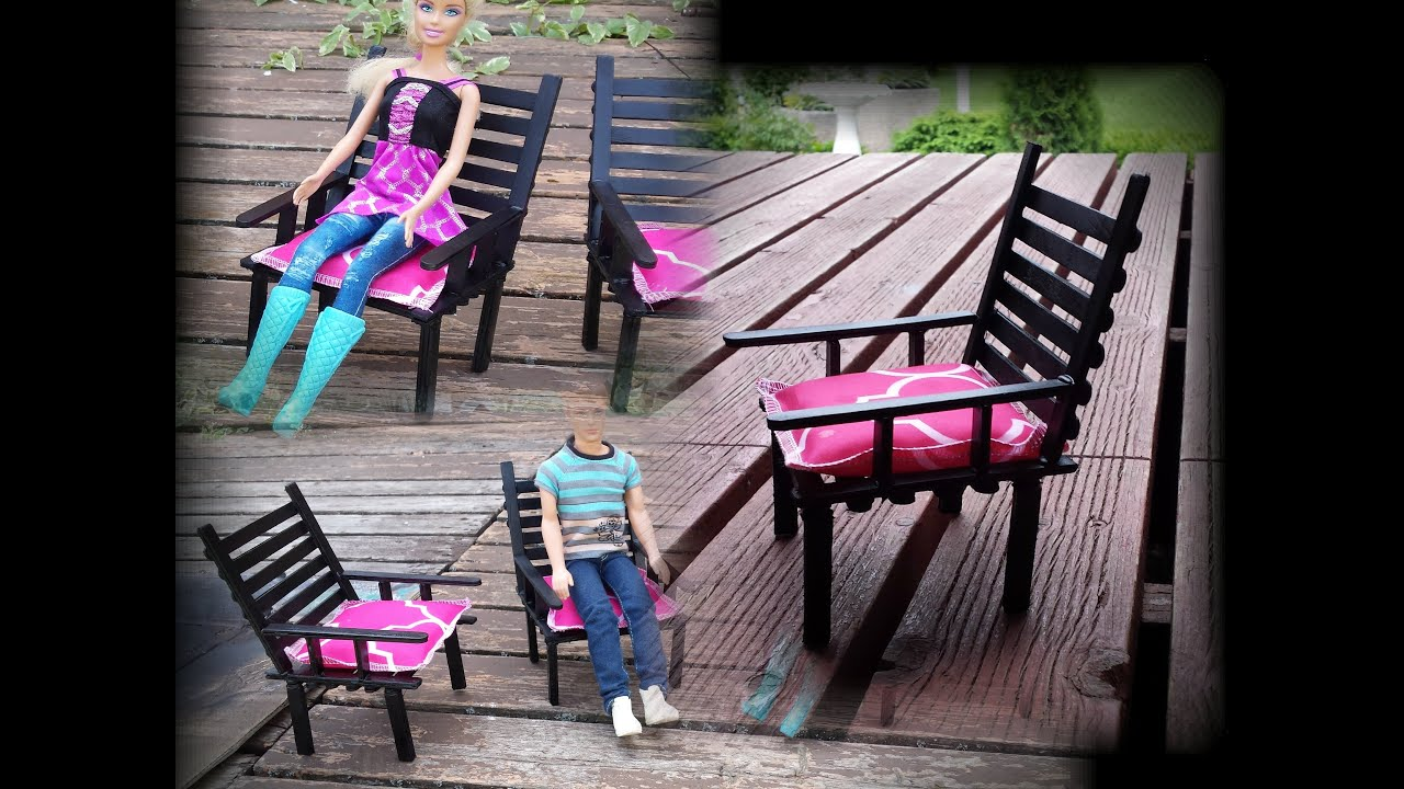 How to make a Doll Patio Chair