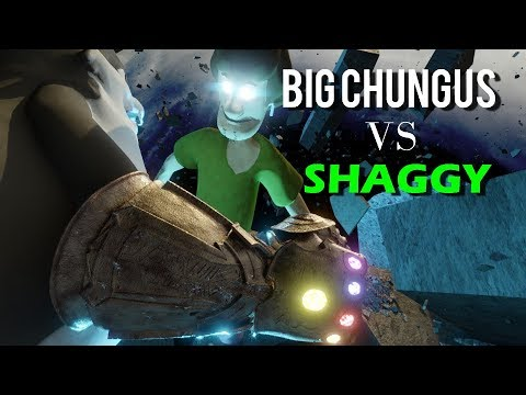 Big Chungus Vs Shaggy Youtube