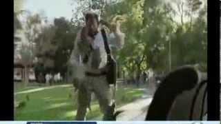 Squirrels Attack DirecTV Commercial