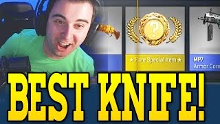 MY BEST KNIFE CASE OPENING! CS GO UNBOXING