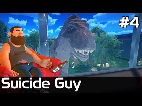 Suicide Guy Game [#4] ZABIJA mnie Dinozaur?!