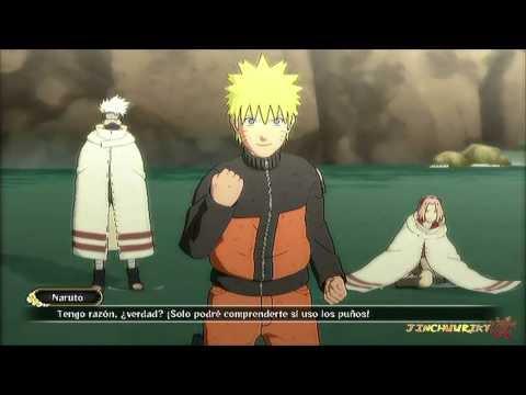 Naruto Shippuden Ultimate Ninja Storm 3 - Cap 2 - El Equipo 7 Reunido Parte [3/3] Rank S + F.Secreto