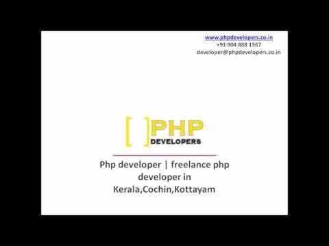 php developer kerala cochin kottayam | Freelance PHP Developer Kerala