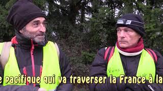 Gilets Jaunes : Marche Nationale pour le R.I.C