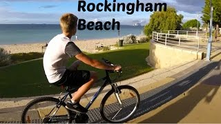 Rockingham Beach | Bike Ride W/Friends
