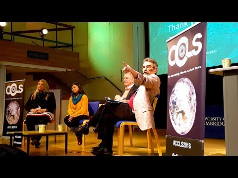 Climate Change Is Now! - High-Level Panel #CCLS2018 with @CamScience