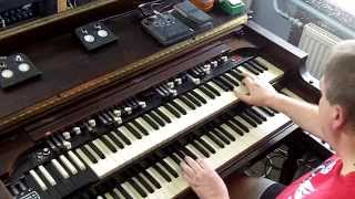 Robertas Slavenas-Hammond Organ-July Morning Cover(2014)