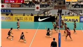 set 4/4 : Thailand VS Japan Semi-Final  15th A