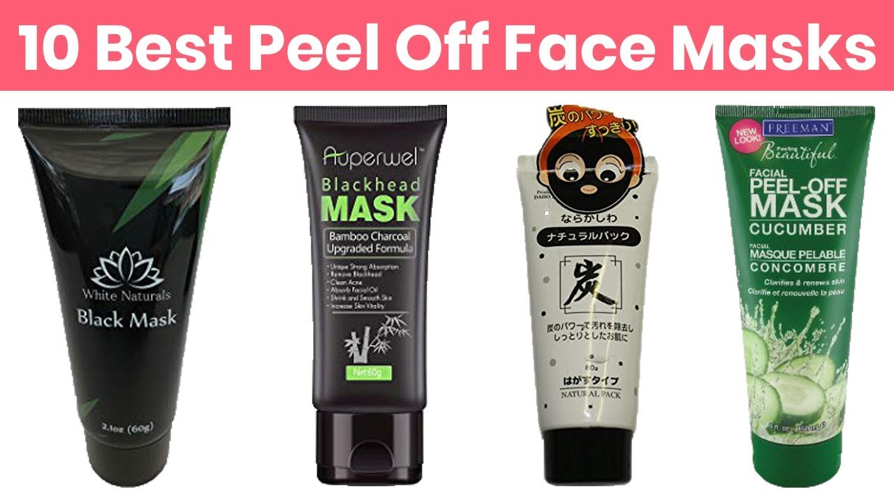 Best peel off face masks available in market picture