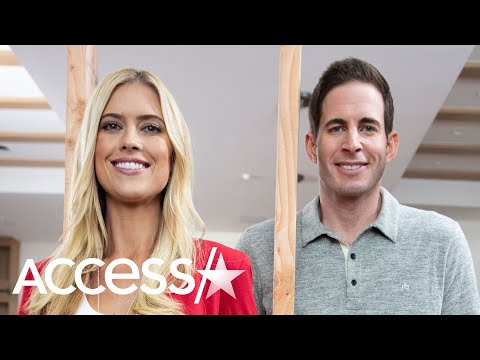 Christina Anstead And Tarek El Moussa Reunite For Holidays