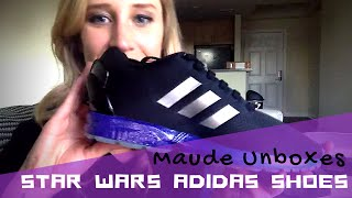 Maude Unboxes Her Custom Made Star Wars Adidas Shoes!