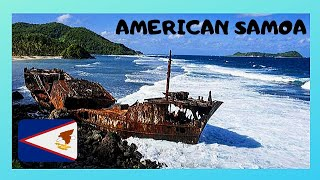 American Samoa, shipwreck battered by the waves and the storms (beautiful images)