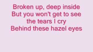 Kelly Clarkson- Behind These Hazel Eyes (lyrics) Mp3