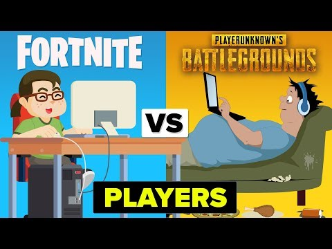PUBG Players Vs Fortnite Players