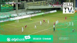 Marcolini Dantes Bertucci gólja a Puskás Akadémia FC - Kisvárda Master Good mérkőzésen