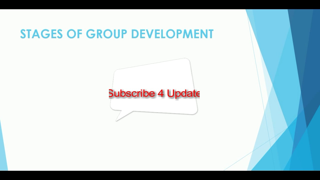 5 stages of group development