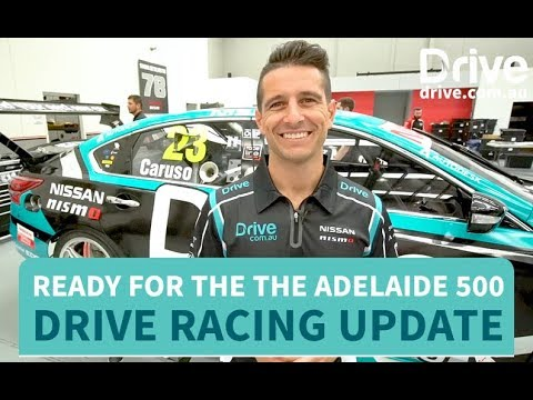 Getting ready for the the Adelaide 500   Drive.com.au - Dauer: 113 Sekunden