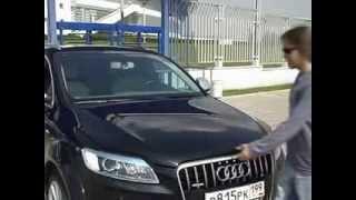 Audi Q7 V12 тест драйв