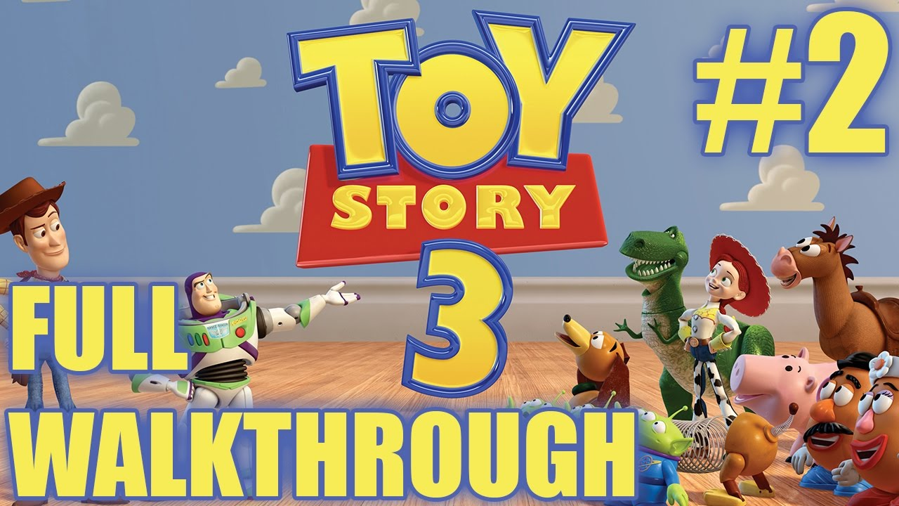 Toy Game On Ds : Toy story walkthrough part nds gameplay nintendo