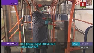 Борьба с коронавирусом: как в Беларуси обрабатывают общественный транспорт? Панорама