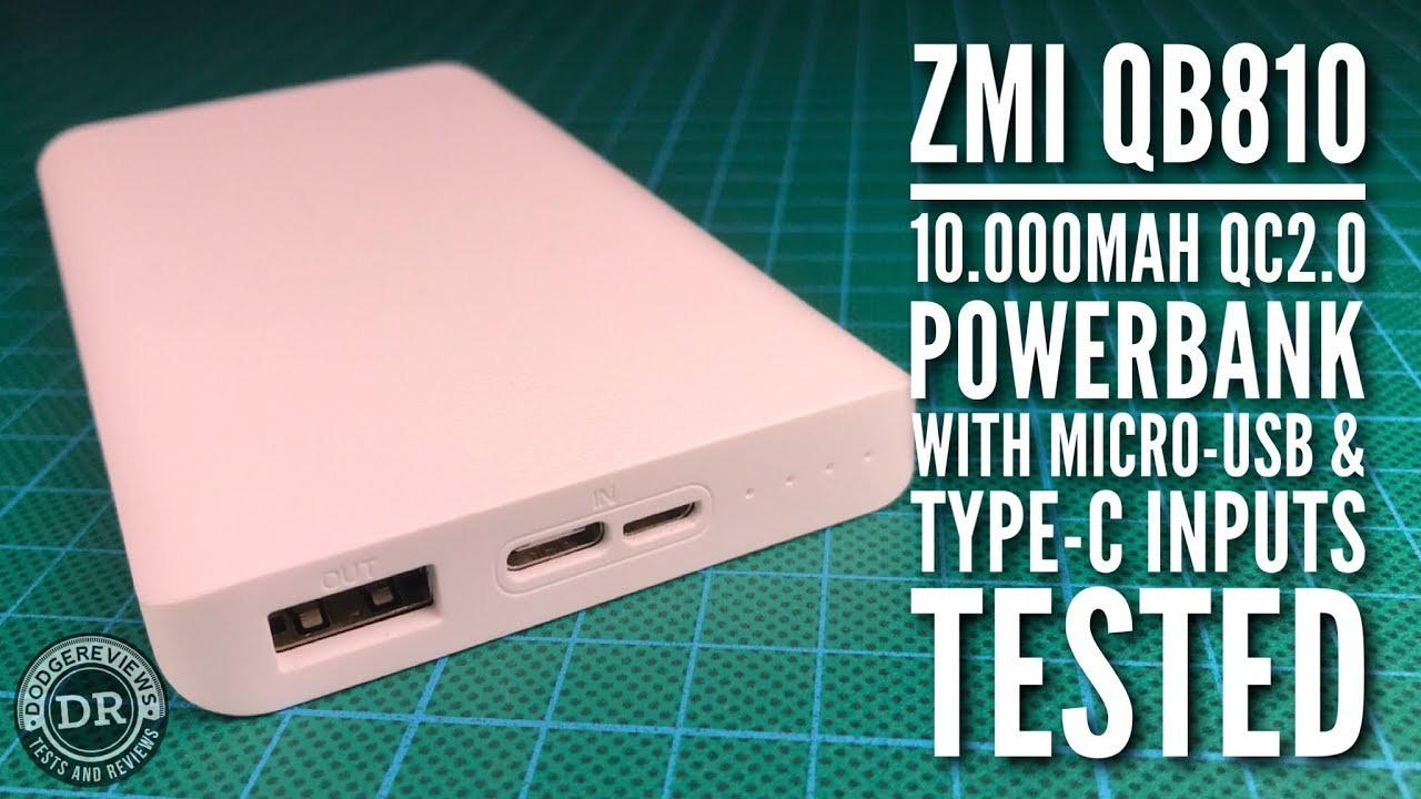 Xiaomi ZMI QB810 Power Bank 10000mAh Type-C online - Best power bank brand