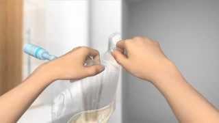 Repeat youtube video Für Frauen: Katheter mit integriertem Beutel.