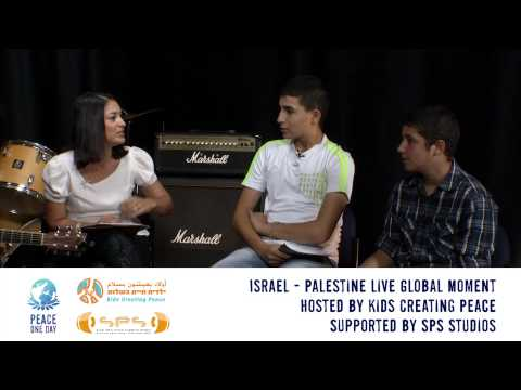 Peace One Day Live Global Moment - Israel / Palestine