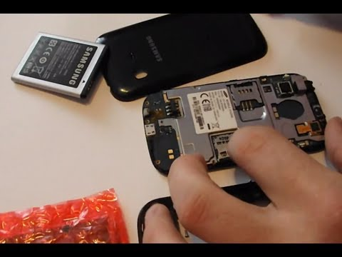 Samsung Galaxy Ch@t B5330 Disassembly & Assembly - Digitizer, Screen & Case Replacement Repair