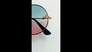 Солнцезащитные очки с Пчёлкой с Алиэкспресс/Sunglasses with the Bee from Aliexpress