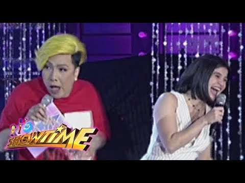 It's Showtime MIss Q and A: Vice Ganda and Anne argue and blame candidate no. 3