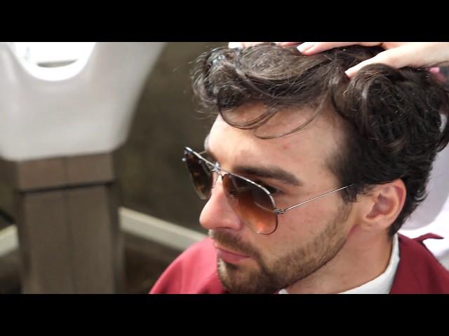 HRS NEW VIDEO - Eccezionale Protesi di capelli parziale per uomo con effetto finale straordinario