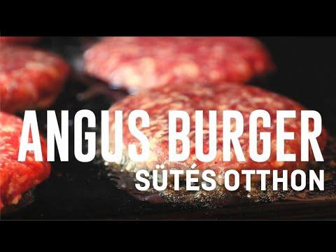 Burgersütés 1 percben