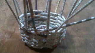 Cara Membuat Keranjang Dari Kertas