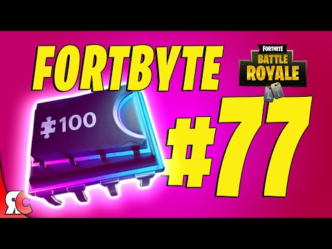 Fortbyte #77 | Found within a track side TACO SHOP (Fortnite Forbyte challenge locations)