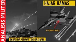 Hajar Hamas, Israel Kerahkan Puluhan Pesawat Tempur Canggih Ini