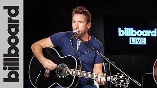 Nickelback - 'Song On Fire' Live Acoustic Performance From 'Feed The Machine' | Billboard
