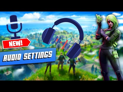 BEST Audio Settings For Fortnite!