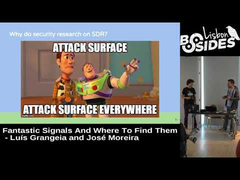 BSides Lisbon 2017 - Fantastic signals and where to find them by Luís Grangeia and José Moreira