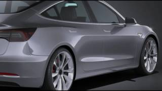 Tesla Model 3 2018 Interior And Exterior