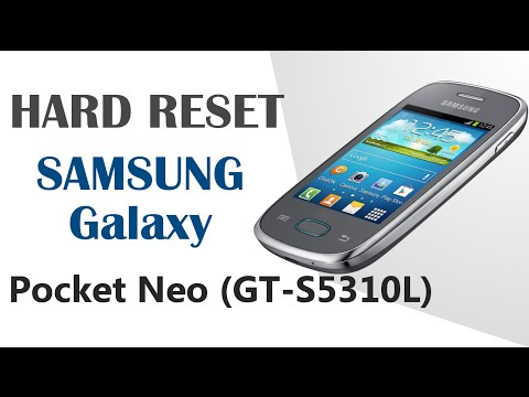 Galaxy Hard Reset | Resetear - SAMSUNG Galaxy Pocket Neo