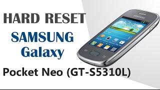 Galaxy Hard Reset | Resetear - SAMSUNG Galaxy Pocket Neo