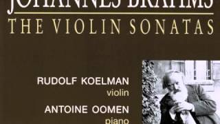 Johannes Brahms Violin Sonata No. 3 in D minor, Op. 108 : IV . Presto agitato