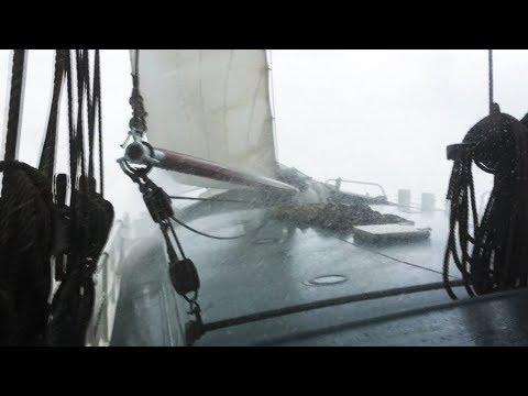 SAILING THE ELIZABETH - Rough weather