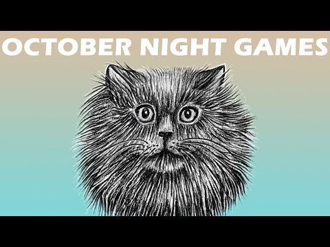 OCTOBER NIGHT GAMES - Jeu de plateau pour Halloween