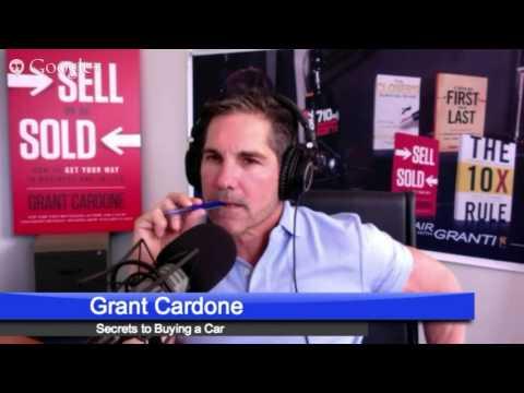 Secrets to Buying a Car - Cardone Zone